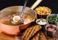 Австрийский суп  ТАФЕЛЬШПИТЦ (полпорции)