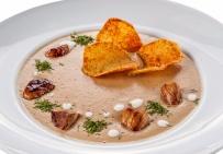 Крем-суп из боровиков