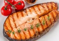 Стейк из лосося заморского