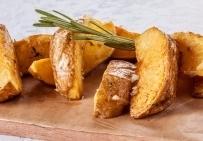 Картофель, запеченный в кунжуте