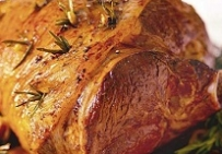 Свиной подгорок, запеченный со специями