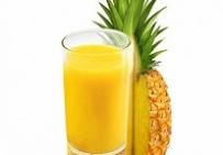 Свежевыжатый ананасовый сок