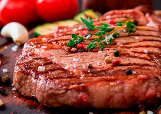 Приготовленный чтейк Рамп из говядины (сухой ферментации)- фото. Купить стейки в Харькове