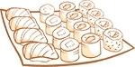 Суши и роллы (только из р. Пушка-Миндаль)