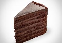 Двадцатичетырехэтажный  шоколадный торт