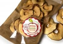 Фріпси зі стиглих українських яблук - натуральные сушеные яблоки. 100% био продукт. Без сахара.